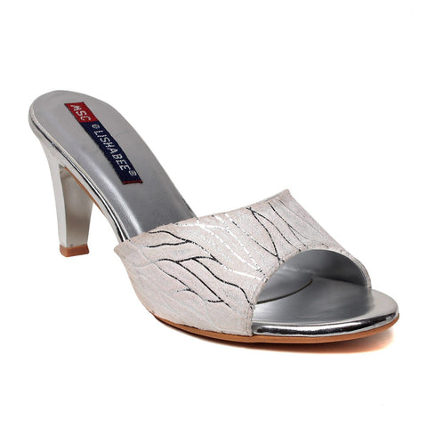 MSC Women Synthetic Gold Heel