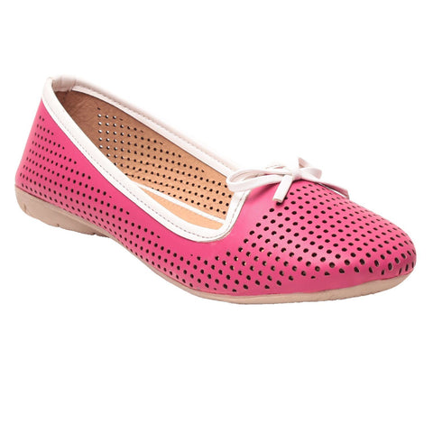 MSC Women Pink Synthetic Bellies