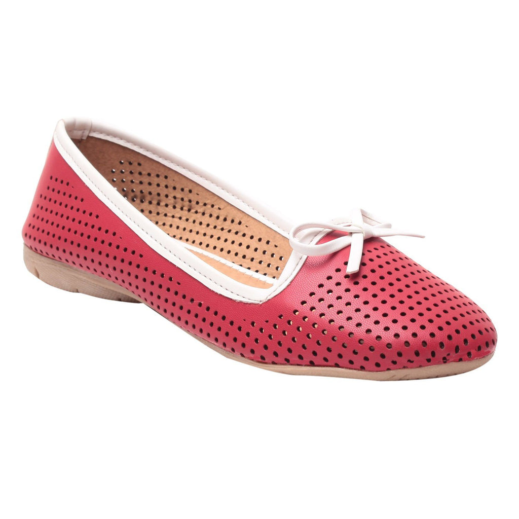 MSC Women Red Synthetic Bellies