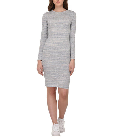 Multi Textured Bodycon Dress