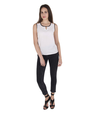 Contrast Binding Tank Top
