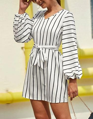 Straight Up Stripe Dress