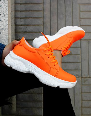 Embrace Orange Neon Sneakers