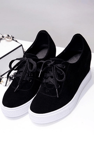 Always On The Go Black Sneakers