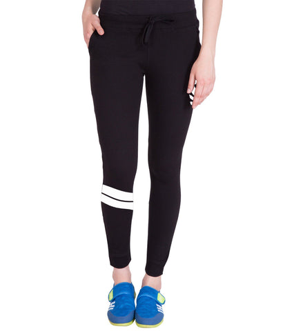 Slim Fit Black Stylish Trackpant