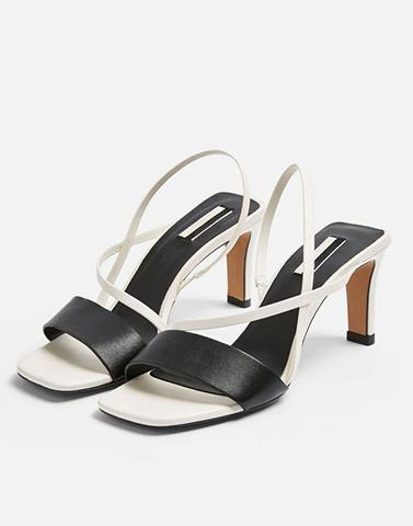 Black And White Statement Heel