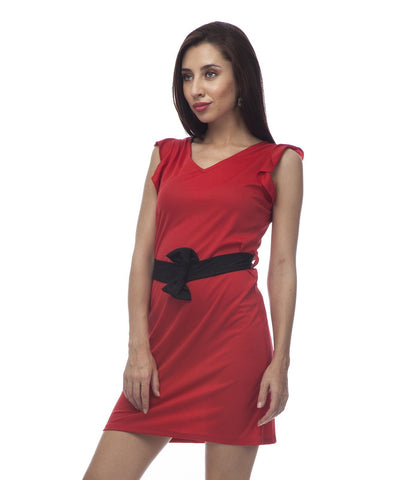 Sheath Red Classy Dress