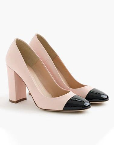 Blush In Formal Block Heels