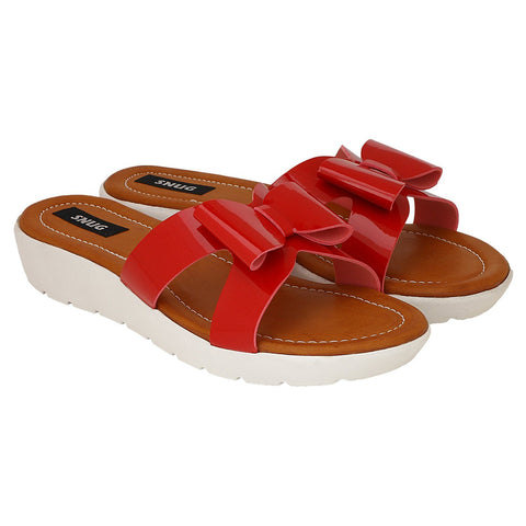 Snug Women Red Wedges