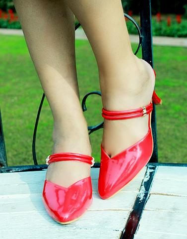Candy Red Heels