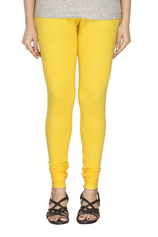 Solid Yellow leggings