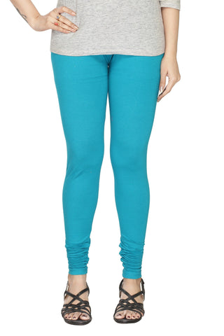 Solid Light Blue leggings