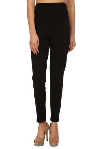 Polyester Lycra Slim Fit Pants