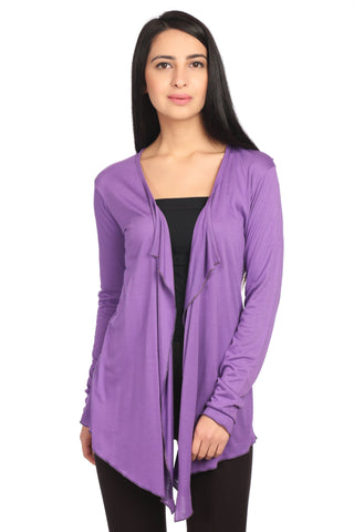 Light Purple Solid Shrug
