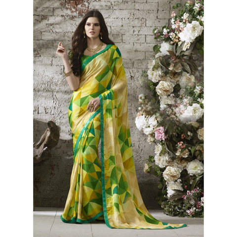 Chiffon  Casual wear Printed  Sarees