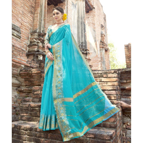 Art Silk  Party wear  Sarees
