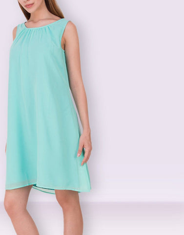 Stylish Mint Midi Dress