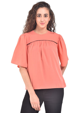 UVR Peach Solid Top