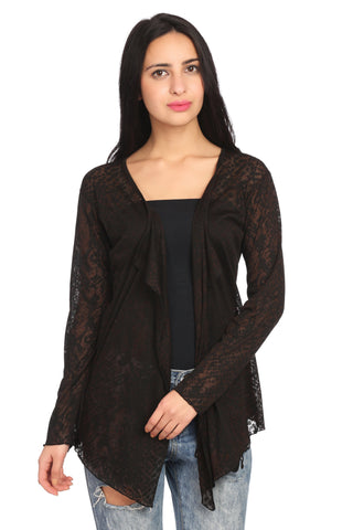 Black Lace Summer Shrug