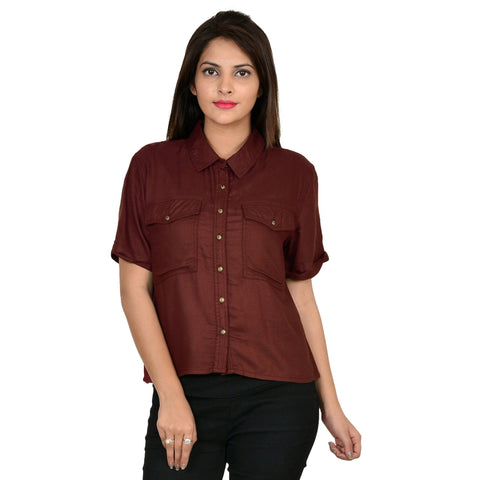 Fit Soilid Casual Shirt