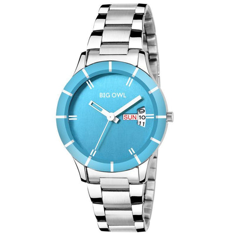 Fashion Analog Blue Dial Watch