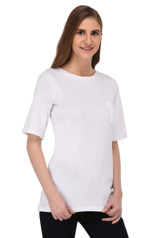 Long White Tshirt for Women
