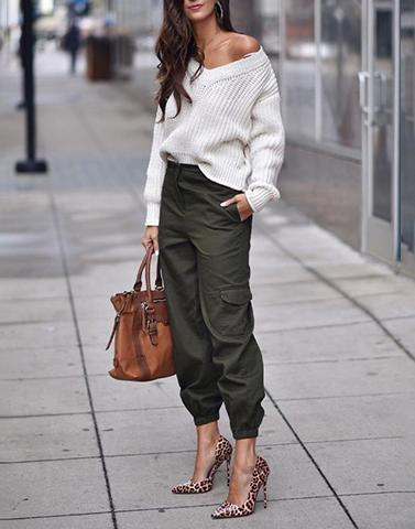 Classy Cargo Trousers