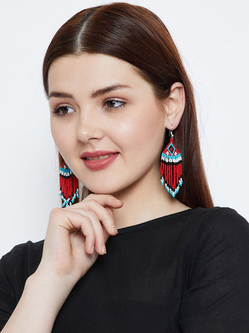 Vibrant Turquoise Handmade Earrings