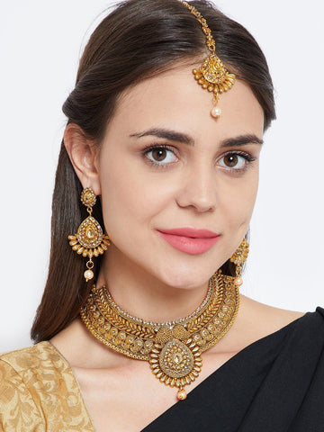 Spark Ethnic Jewellery Set
