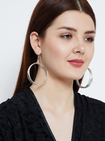 Swirls and Twirls Hoops Earrings