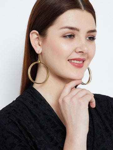 Multiple Circular Hoops Earrings