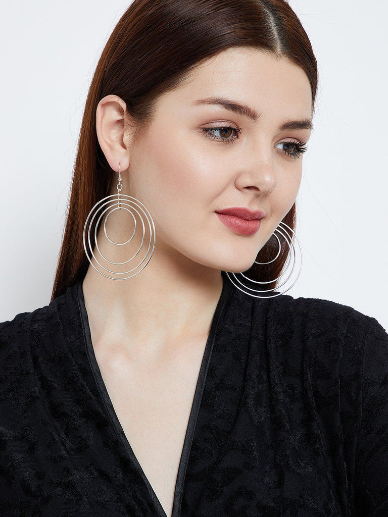 Circular Swirled Earrings