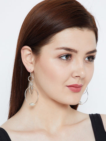 Swirled Hoops Earrings