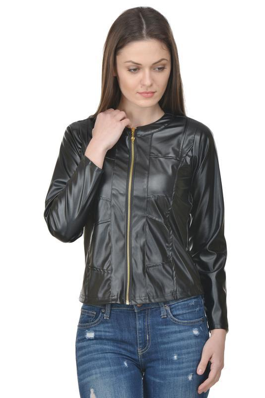 Raabta Black Full Leather Jacket