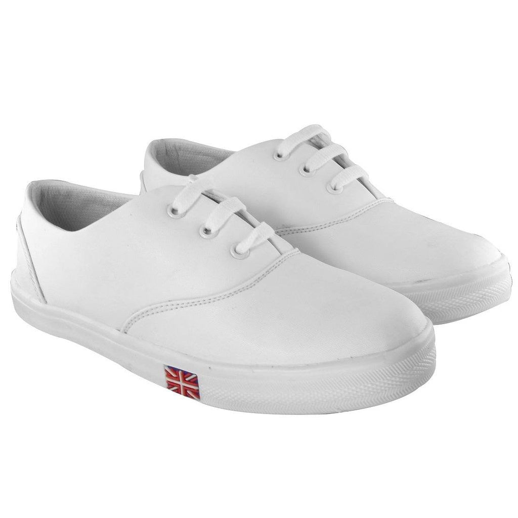 Blinder Full White Casual Sneakers Shoes For Women