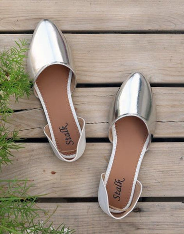 Sliver Pointed Toe Ballerina