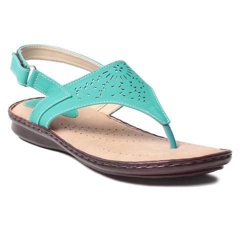 MSC Women Synthetic  Green Footwear