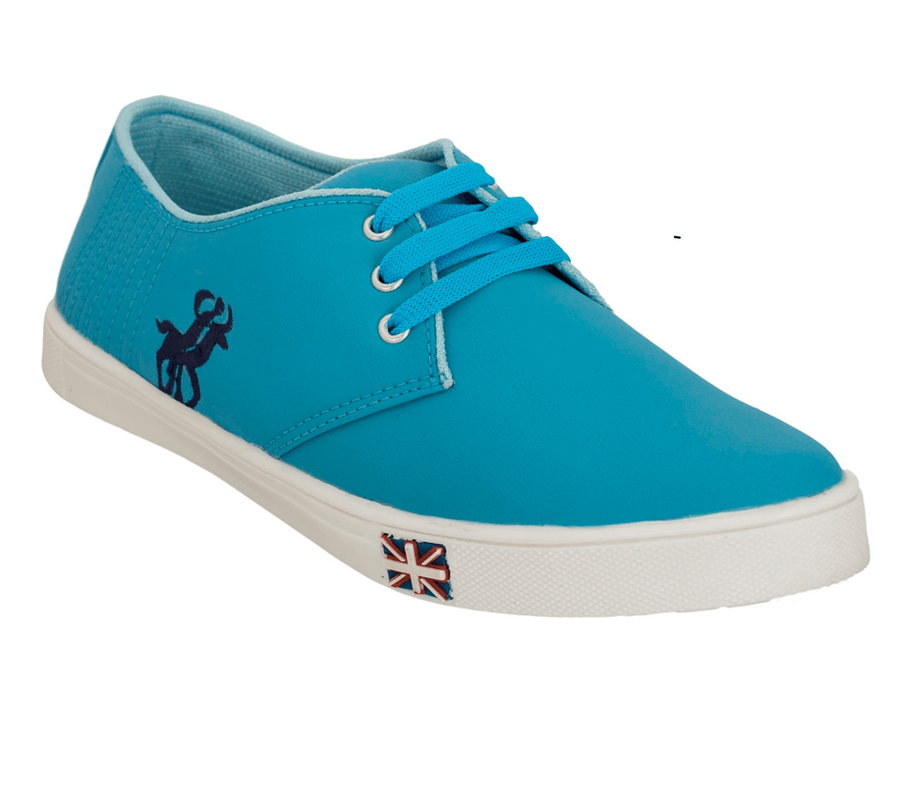Blinder Sky Blue Lace-Up Casual Sneakers shoes for men