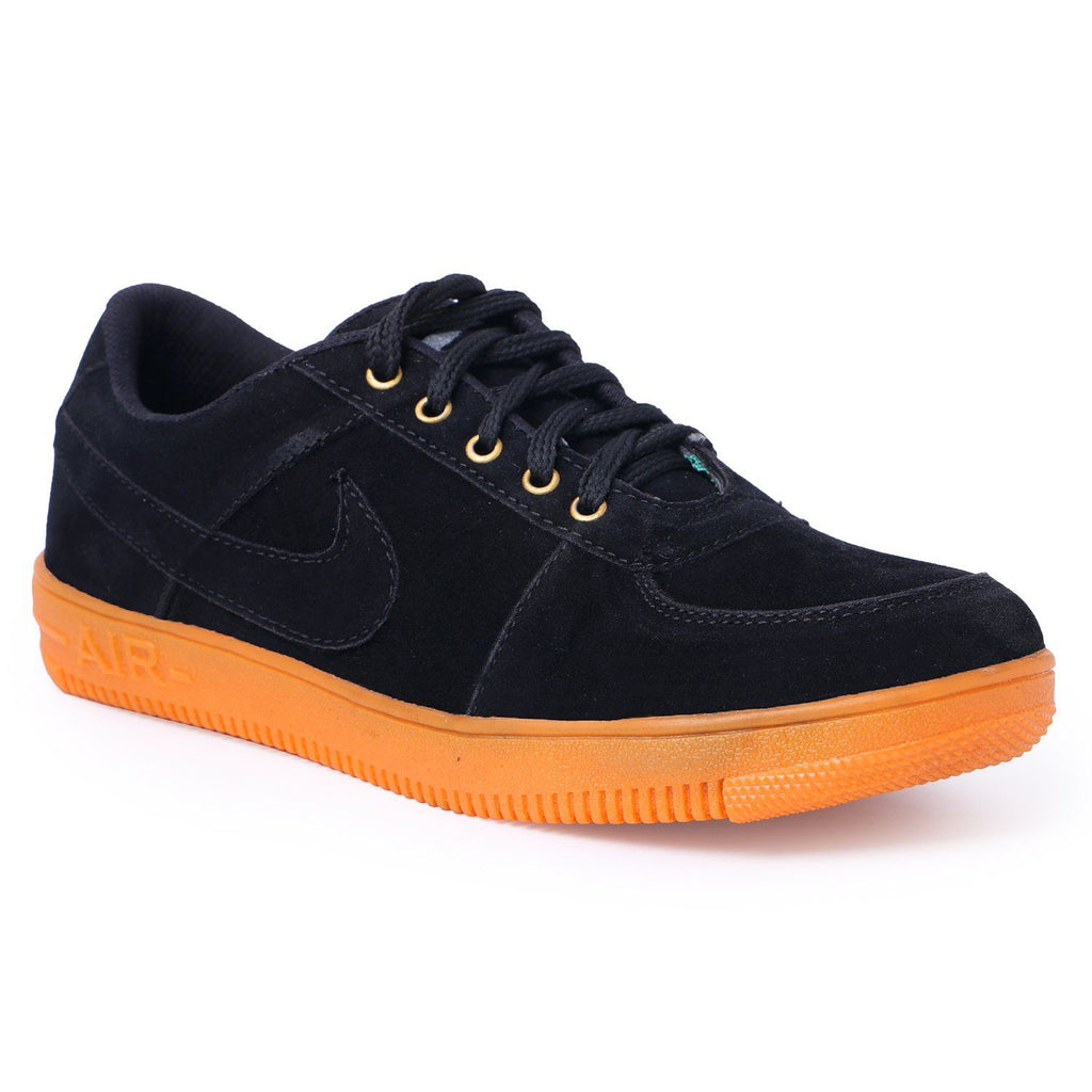 Black Suede casual shoes