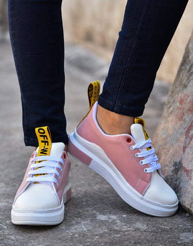 Speedy Pink Off Sneakers
