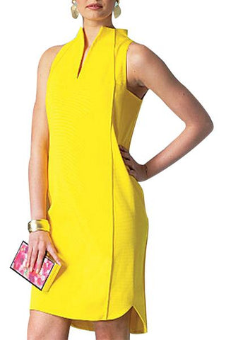 Yellow Summer Cool Dress