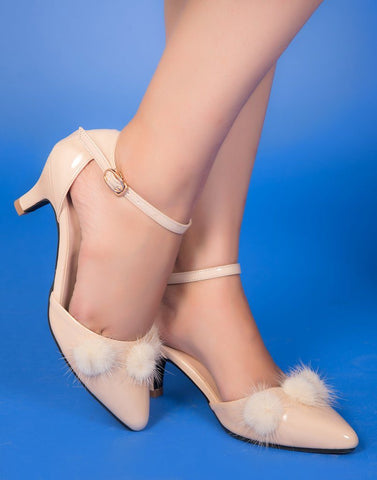 Trendy Furry Heels