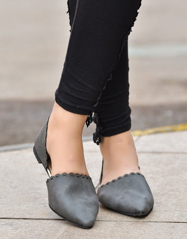 Urban Chic Grey Ballerina