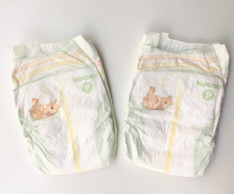 Preemie Nappies ~ Huggies ~ up to 6lbs