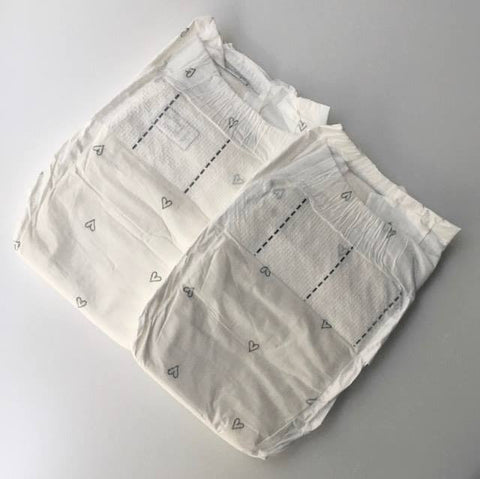 Newborn Nature Nappies x2 ( 2-5kg )