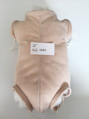 "22"" Cloth body Full limbs ~ Regular Fit"