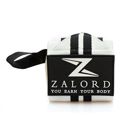 Zalord Wrist Wraps (18'', Velcro style) for Weightlifting, Cross-fit, Powerlifting, Bench Press