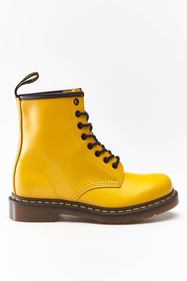 #00026  Dr.Martens High-Top Schuhe 1460 SMOOTH SUMMER ICONS YELLOW