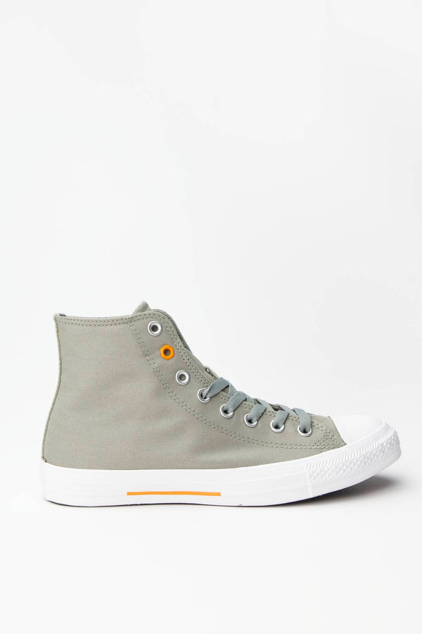 #00087  Converse Turnschuhe CHUCK TAYLOR ALL STAR HI 052 JADE STONE/ORANGE RIND/WHITE