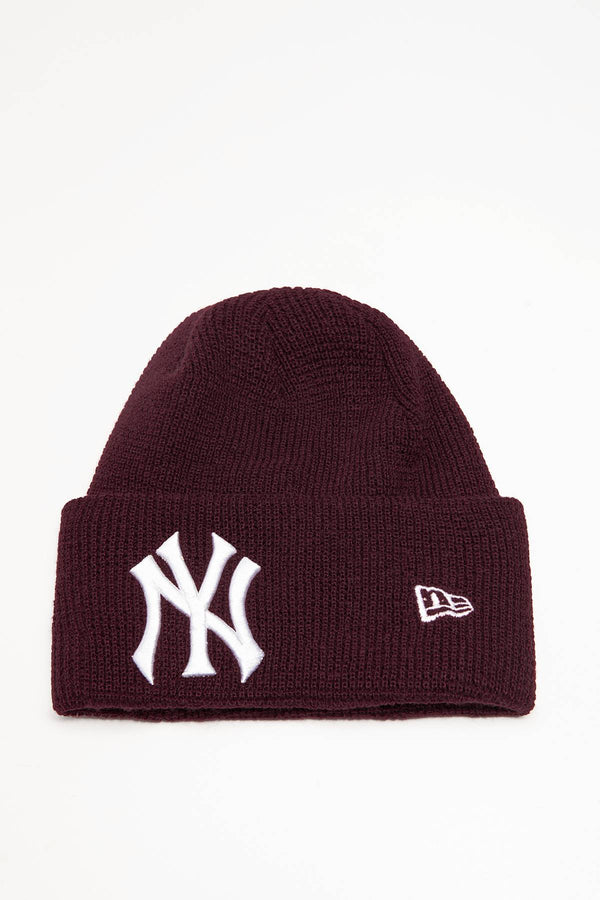 #00008  New Era Mütze LEAGUE ESSENTIAL CUFF KNIT 629 RED